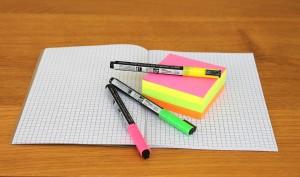 Usar distintos colores te ayudará a aclarar las ideas.