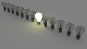 Vas a tener muchas ideas. Céntrate en una y trabaja sobre ella.