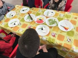 Espacio dedicado a la Experiencia Gastro. Tocaba hacer sushi de gominola